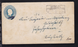 König Friedrich Wilhelm IV 2 Sgr. Mit R3 BERLIN STADTPOST-EXP. VII 27.11.,  - Prussia