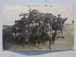 TURQUIE Carte-photo En état Concours - État-Major Des Chars De Combat (502/506èmes RCC) Camp De Makri-Keuy DEN1038 - Turquie