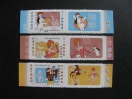 TB Série N° 4149A Au N° 4151A , Neufs XX. - Francia