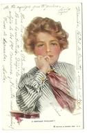 Joven Año  1916. - Postales