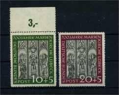 BUND 1951 Nr 139-140 Postfrisch (104870) - BRD