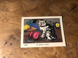 320/ BON POINT 1964 LE PETIT CHAT - Old Paper