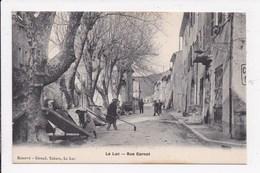 CP 83 LE LUC Rue Carnot - Le Luc