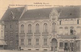 """Ledeberg ,( Gent , Gand ), Kloster St Stanislas , Proostdij En De Gewezen Feestzaal """" Vooruitgang """" ( 1871 - 1892 ) - Gent"""
