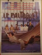 Aff Ciné Orig LE PALTOQUET (1986/Michel Deville) Daniel Auteuil 120x160 J Moreau Jean Yanne Fanny Ardant Michel Piccoli - Manifesti & Poster