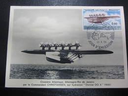 Carte 1er Jour Croisière Atlantique Hydravion Dornier 22 Mai 1964 - 1946-....: Era Moderna