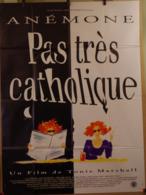 Aff Ciné Orig PAS TRES CATHOLIQUE (1994) 160X120 Anémone T Marshall - Affiches & Posters