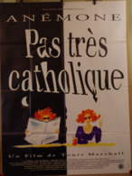 Aff Ciné Orig PAS TRES CATHOLIQUE (1994) 160X120 Anémone T Marshall - Manifesti & Poster