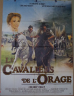 Aff Ciné Orig LES CAVALIERS DE L ORAGE 120X160 Marlene Jobert 1984 Vittorio Mezzogiorno - Manifesti & Poster