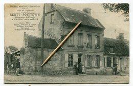 CPA   02 : VAILLY Sur AISNE   épicerie Genty Poittevin   VOIR  DESCRIPTIF  §§§ - France