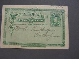 New Foundland 1898 - 1860-1899 Reign Of Victoria