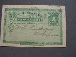 New Foundland 1898 - 1860-1899 Victoria