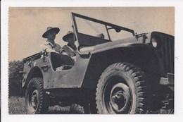 CP SCOUTISME Jamboree 1947 Prospection Du Terrain De Moisson En Jeep - Padvinderij