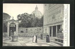 AK Papst Pius X. E L`Aiutante Di Camera Nel Cortile Della Palazzina Di Pio IV. - Pausen