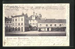 AK Rosenheim, Strasse Am Mitterthor - Rosenheim