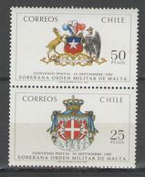 Chile - COAT OF ARMS 1983 MNH - Chile