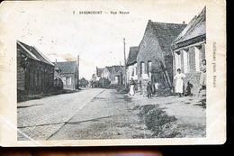 SEBONCOURT OCCUPE - Francia