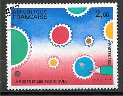 FRANCE 2200 Philexfrance 82 La Poste Et Les Techniques . - Gebruikt