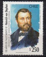 Chile - HEINRICH VON STEPHAN 1997 MNH - Chile