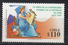 Chile - JUSTICE 1997 MNH - Chile