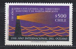 Chile - LIGHTHOUSE 1998 MNH - Cile