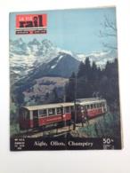 Vie Du Rail 1954 452 AIGLE CHAMPERY TROISTORRENTS OLLON MONTHEY BRESSUIRE ARNEGUY ILLIEZ RONCEVAUX - Treni