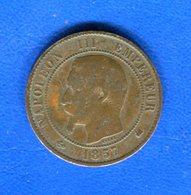 10  Cents  1857 K - D. 10 Centimes