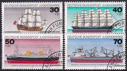 DEUTSCHLAND 1977 Mi-Nr. 929/32 O Used - Aus Abo - [7] Repubblica Federale