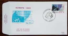 Belgique - FDC 1985 - YT N°2175 - Europa / Année Européenne De La Musique - FDC