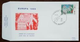 Belgique - FDC 1985 - YT N°2176 - Europa / Année Européenne De La Musique - FDC
