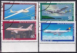 DEUTSCHLAND 1980 Mi-Nr. 1040/43 O Used - Aus Abo - Usati