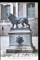 BOHAIN FONTAINE DU LION CP TOILEE - Francia