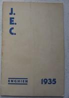 Plaquette Journée D'étude Générales ENGHIEN 1935 ACJB Jeunesse Estudiantine Catholique JEC - Unclassified