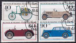 DEUTSCHLAND 1982 Mi-Nr. 1123/26 O Used - Aus Abo - Usati