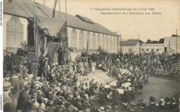 CPA 59 Nord LILLE 1ere Exposition Internationale De LILLE 1920 Représentation De L' Arlésienne Aux Arènes - Lille
