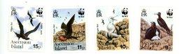 Ascension 1990-+Frégates-WWF- YT 503/6***MNH - Oiseaux