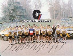 Cyclisme, Groupe Renault Gitane 1980 - Cycling
