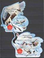 ST1602 2016 S. TOME E PRINCIPE FAUNA NATIONAL BIRDS OF CHINA 1KB+1BL MNH - Oiseaux