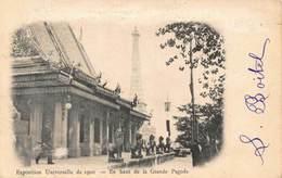 France Exposition Unvierselle De 1900 En Haut De La Grande Pagode Postcard - France