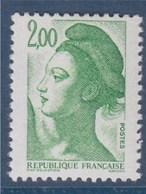 = Liberté De Gandon, D'près Delacroix, 2f00 N°2484 Neuf - 1982-90 Liberté De Gandon