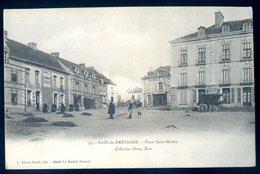 Cpa Du 35 Bain De Bretagne , Place Saint Martin      DEC19-04bis - Frankreich