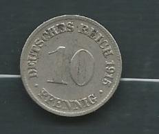 10 Pfennig 1915 D, Germany , Empire Laupi 11505 - 10 Pfennig