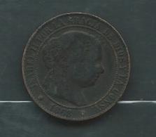 ESPAGNE 2 1/2 CENT 1868  -  Laupi 11704 - [1] …-1931: Königreich