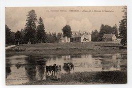 - CPA TRÉDION (56) - L'Etang Et Le Château De Beauchêne 1915 - Collection David 392 - - Francia