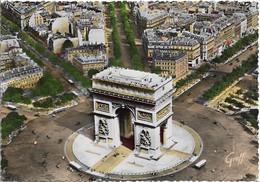 PARIS Vue Aérienne Arc De Triomphe De L'Etoile - Arc De Triomphe