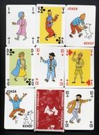 Tintin BD   Jeu De 54 Cartes à Jouer Joker - 54 Kaarten