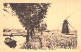 C P A Cpa [62] Pas De Calais > Saint Omer Clairmarais Les Marais Le Moulin - Saint Omer