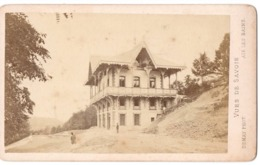 AIX LES BAINS 1852  - Photo Cdv DEMAY Chalet Marlioz - Antiche (ante 1900)