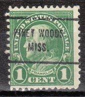 USA Precancel Vorausentwertung Preo, Locals Mississippi, Piney Woods 632-713 - Vereinigte Staaten