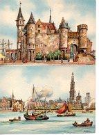 Illustrateur : Lot De 2 Cartes  Barré-Dayez : Anvers 2302 A,B, - Barday